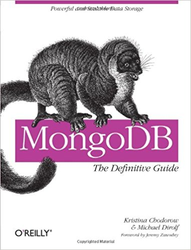 MongoDB - The Definitive Guide